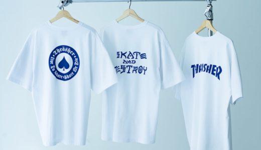 【THRASHER for RHC Ron Herman】別注Tシャツが7月10日に発売予定