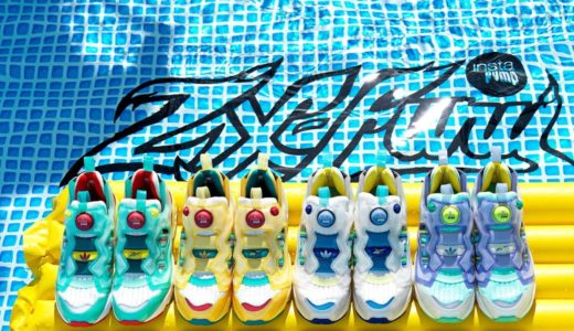 【Reebok × adidas】夏シーズンにピッタリのZX Fury 全4色が国内7月23日に発売予定