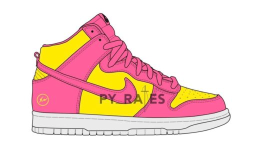 "【fragment design × Nike】Dunk High City Pack ""London""が2021年後半に復刻発売予定"