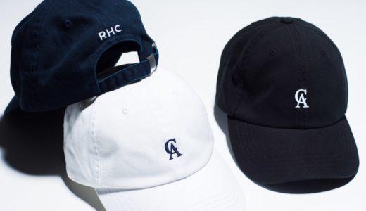 【RHC Ron Herman】オンラインストア1周年記念ロゴキャップが国内8月28日に発売予定