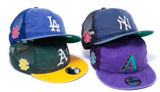 【New Era®︎ × Eric Emanuel】人気MLBチームをフィーチャーしたコラボキャップが国内8月31日に発売予定