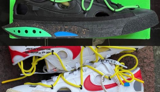 【Off-White™ × Nike】Blazer Low '77が2021年秋冬に発売予定