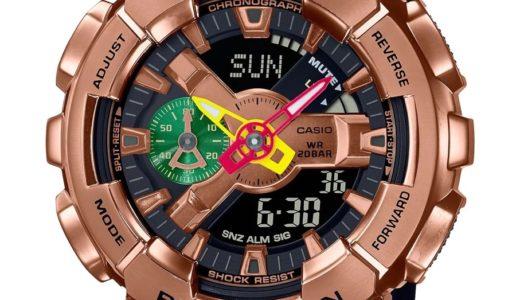 【八村 塁 × G-SHOCK】コラボ腕時計第2弾〈GM-110RH〉が国内9月10日/9月21日に発売予定【先行予約・販売店舗随時更新】