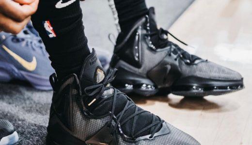 "【Nike】LeBron 19 ""Triple Black""が2021年10月1日に発売予定"