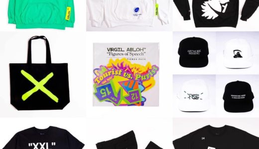 "【Virgil Abloh × ICA】""Figures Of Speech"" Collectionのオンライン発売が開始"