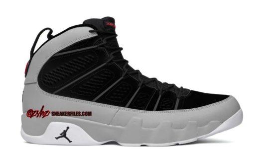 """【Nike】Air Jordan 9 Retro """"Particle Grey""""が2022年1月8日に発売予定"""