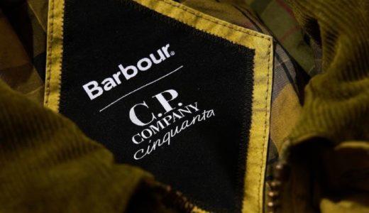 C.P. COMPANY 50周年を記念したBarbourとのスペシャルコラボアイテムが登場