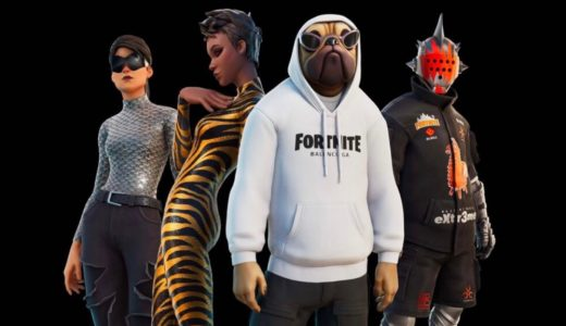 BALENCIAGA × FORTNITE 大人気オンラインゲームとのカプセルコレクションが国内9月20日より発売開始