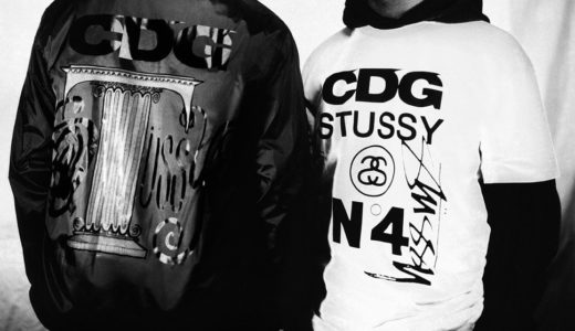 Stüssy × CDG 2021年秋 新作コラボアイテムが9月24日に発売予定