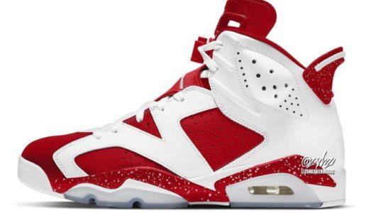 "Nike Air Jordan 6 Retro ""Red Oreo""が2022年夏に発売予定"