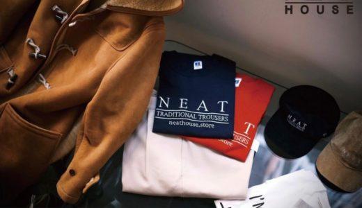 NEAT 6周年/NEAT HOUSE 1周年記念アイテムが9月15日/9月16日に発売予定