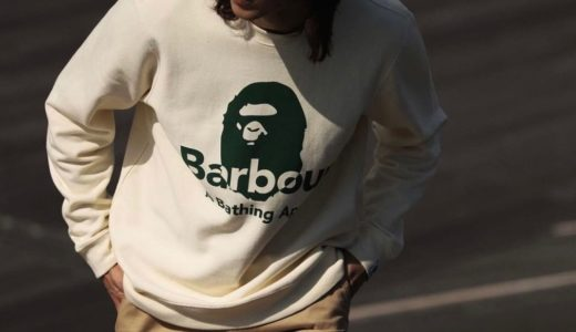 BAPE®︎ × Barbour 初コラボコレクションが国内10月17日に発売予定