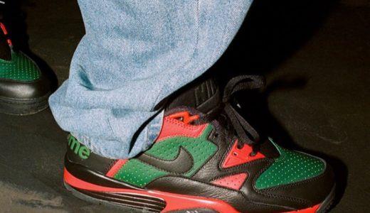 【Supreme × Nike】Air Cross Trainer 3 Low 全2色が国内10月16日に発売予定