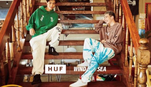 【WIND AND SEA × HUF】コラボコレクション第2弾が国内近日発売予定