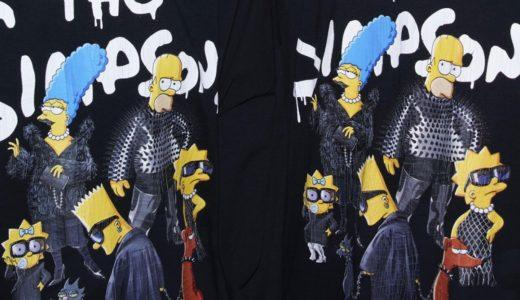 BALENCIAGA × The Simpsons コラボコレクションの国内オンライン発売が開始